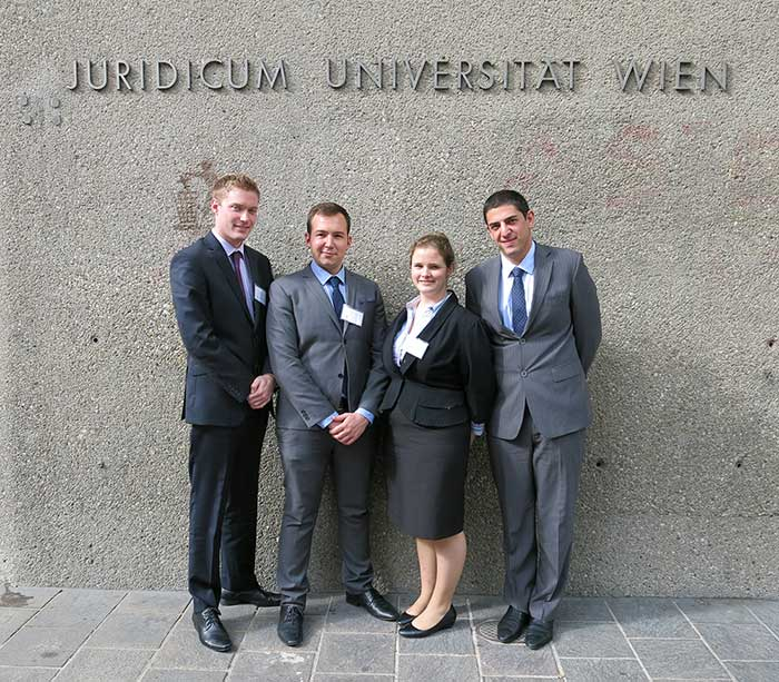 Vis moot 2014 team