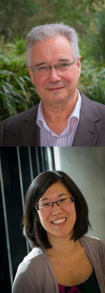 Professor Christoph Antons and Dr Jessica Walton.