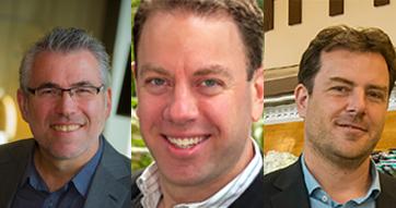 Professor Richard Osborne, Dr Gary Sacks and Dr Adrian Cameron