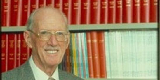 Dr Edmund Gill.               CREDIT: Richard Goodwin.