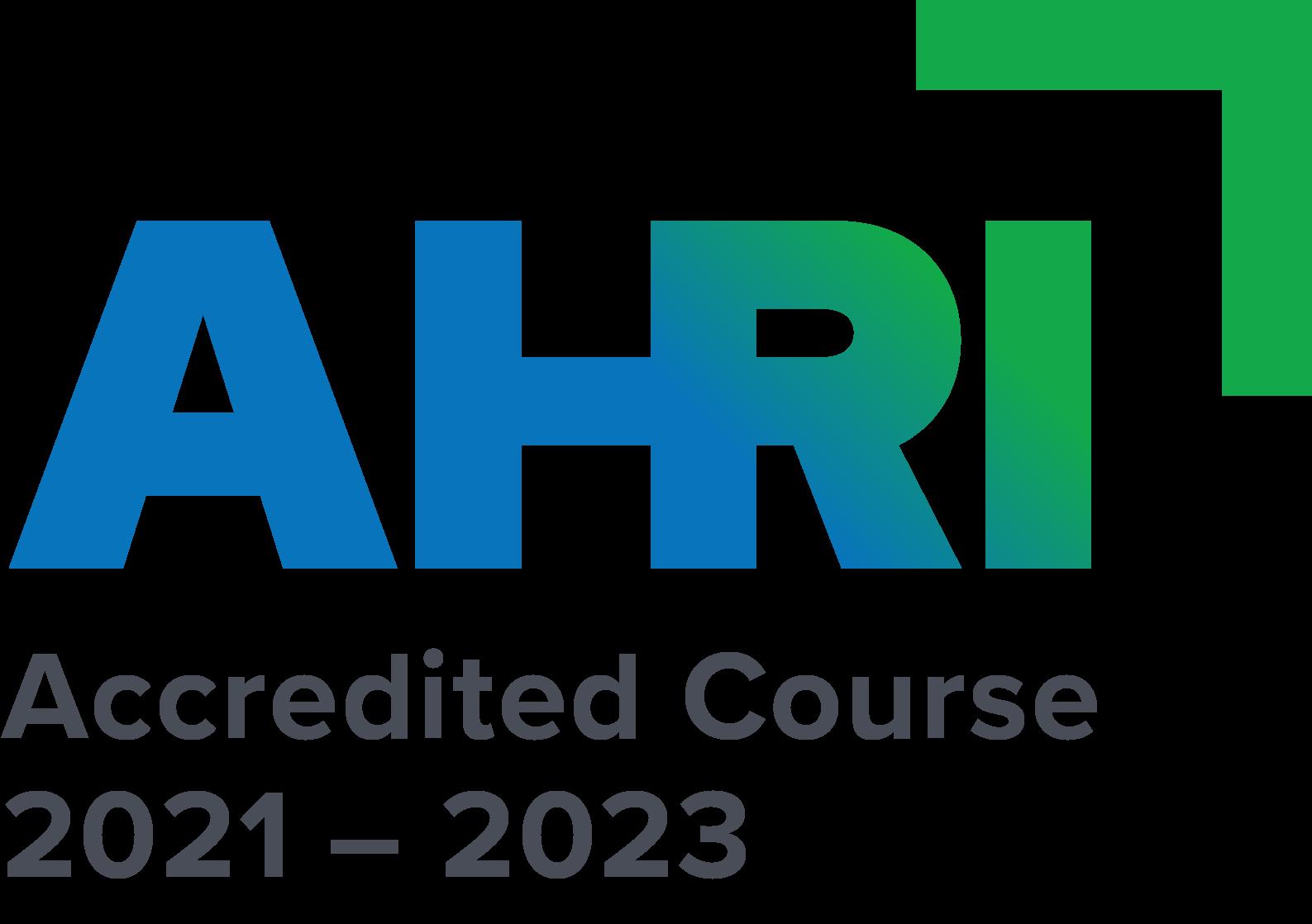 AHRI Accreditation logo