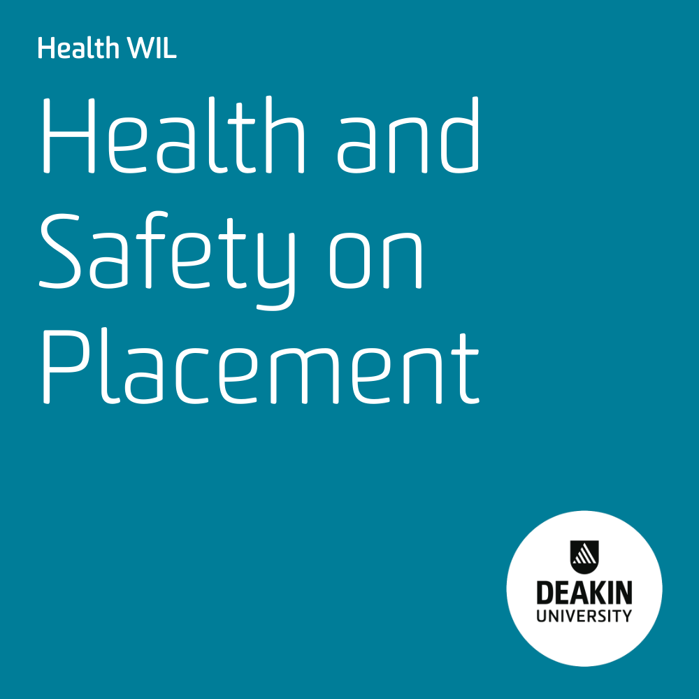 Health and Safety on Placement