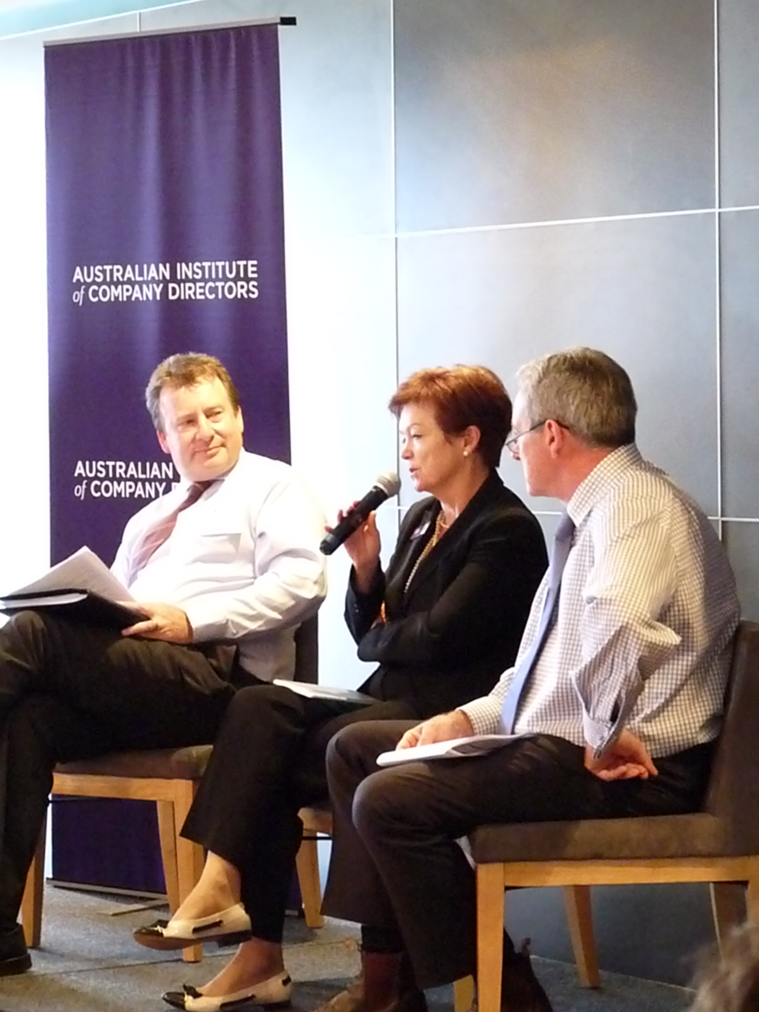 Company Directors panel