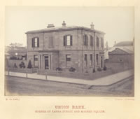 Union Bank, corner of Yarra Street and Market Square