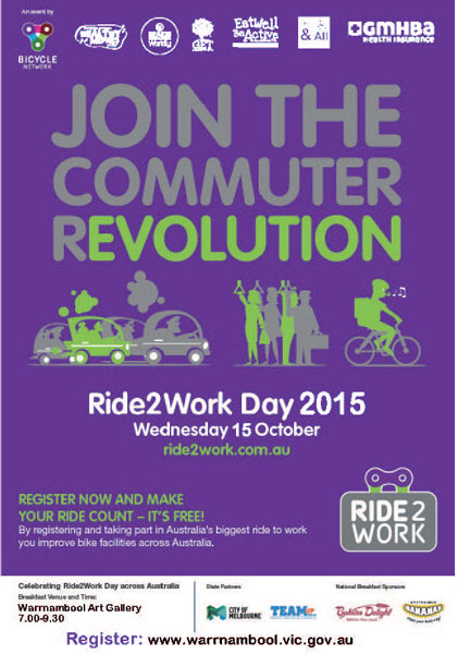Ride2work poster