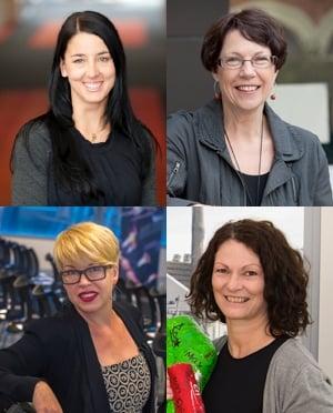 Clockwise from top left: Dr Lana Williams,  Professor Julie Pasco, Dr Sharon Brennan-Olsen and Associate Professor Felice Jacka.