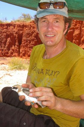 Director of Deakin University's Centre for Integrative Ecology Professor Marcel Klaassen