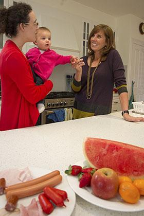 Discussing infant salt intake