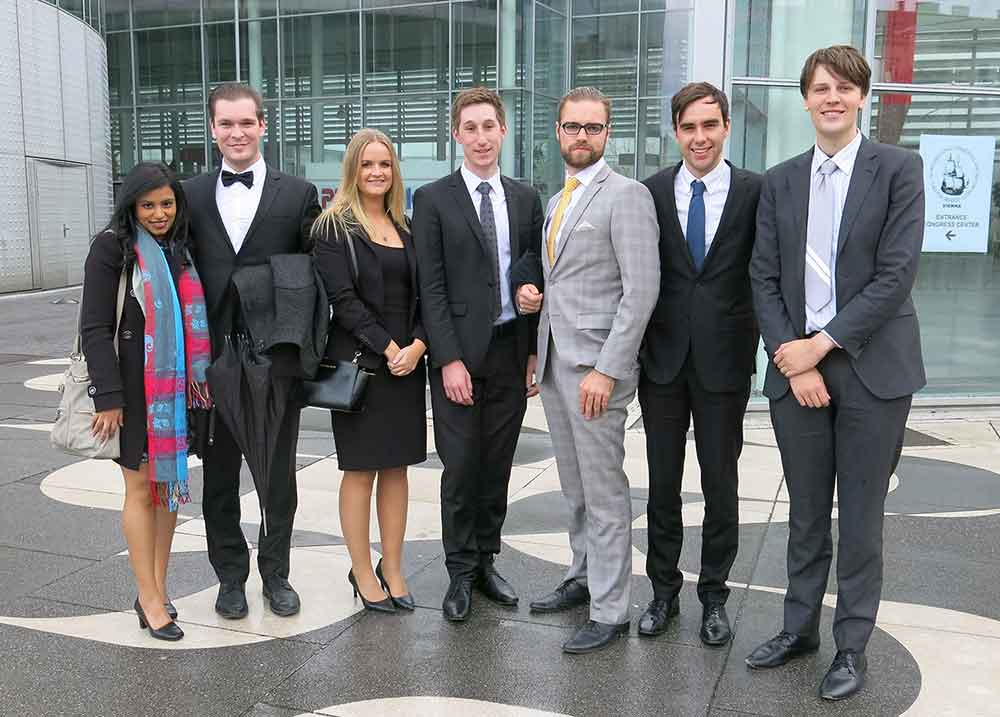 Vis moot 2015 team