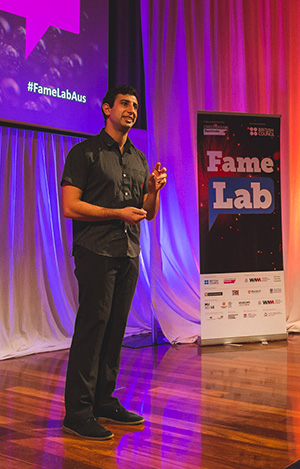 """FameLab gave me a platform to tell people about my research and how amazing zebra finches are. That was really appealing."""