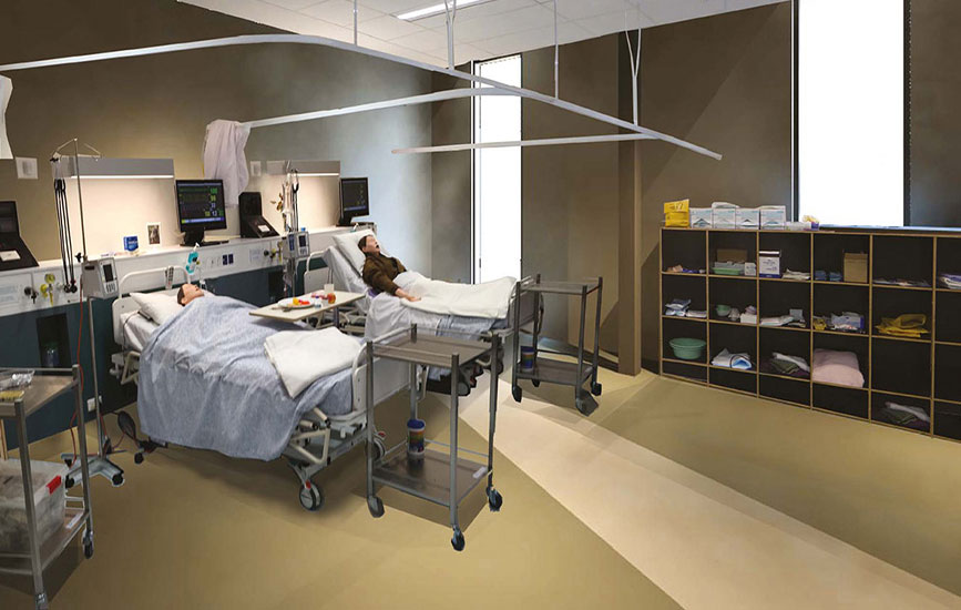 New nursing and midwifery facilities