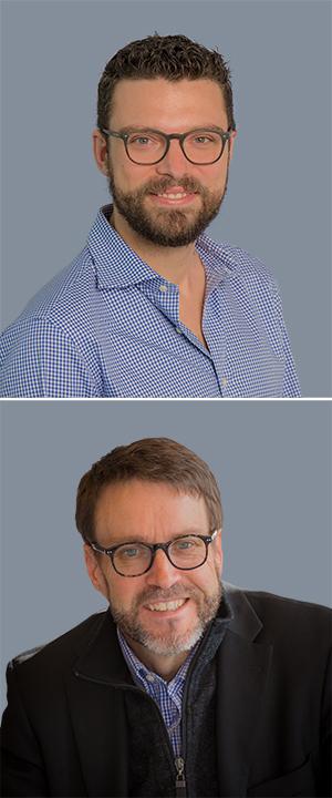 From top: ADI Associate Research Fellow Dr Matteo Vergani and Professor Greg Barton.