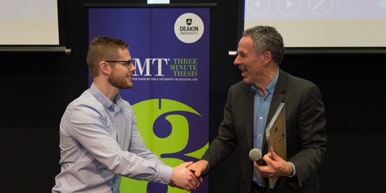 Digital games can educate, claims 3MT winner