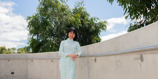 Deakin researcher Associate Professor Ly Tran, who has been named among Vietnam's 50 most influential women by Forbes Vietnam.