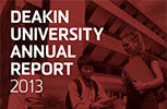 Deakin Annual Report 2013