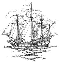 Mahogony Ship Image