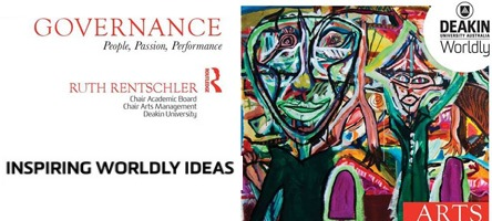 Arts governance book launch