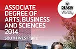 Associate degree South West TAFE booklet