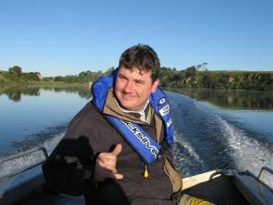 Zooplankton expert, Dr Ben Roennfeldt.