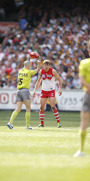The umpires were not found to show opposition bias or to add to home ground advantage.