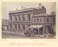 Bank of Victoria, Malop Street