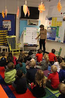 GEP Canada student teaching class
