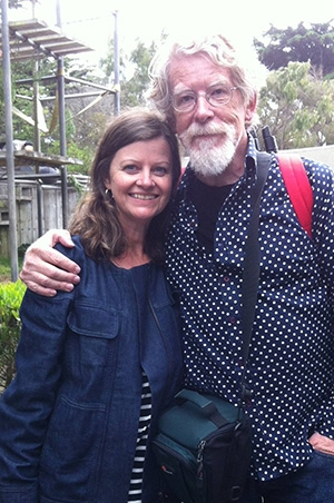 Documentary makers - Dr Donna McRae and Dr Michael Vale.