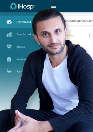 iHosp CEO Farhang Dehzad.