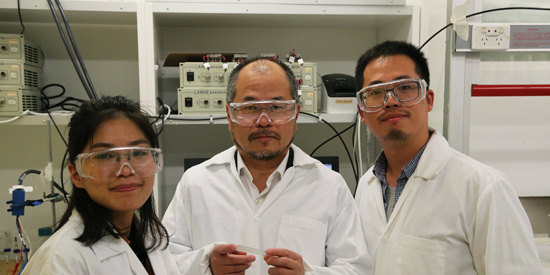 Polymer scientists 'coat up' for 'green' paint in China collaboration