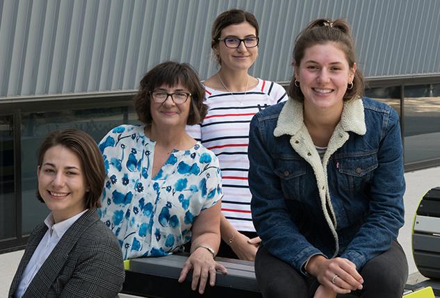 Three sisters in engineering at Deakin
