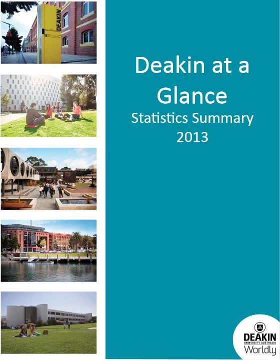 Deakin at a Glance Image