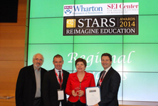 Deakin wins international award