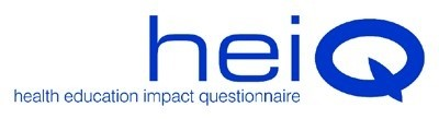 Health Education Impact Questionnaire logo