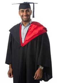 Graduate certificate regalia