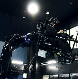 The Universal Motion Simulator can create the 'ultimate simulation.'