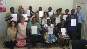Image of ADRI staff in Vanuatu