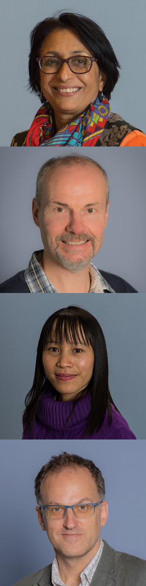 ARC success for Deakin researchers: (from top) Prof Svetha Venkatesh, Prof John Grundy, Assoc Prof Ly Tran, Prof Tim Winter
