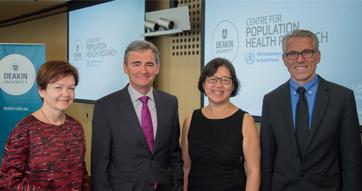 New Deakin WHO Centre targets global health literacy