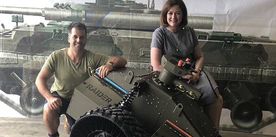 RAIDER project delivers world-class robotics-driven training to the ADF