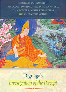 Book cover of Dignaga's investigation of the percept a philosophical legacy in India and Tibet