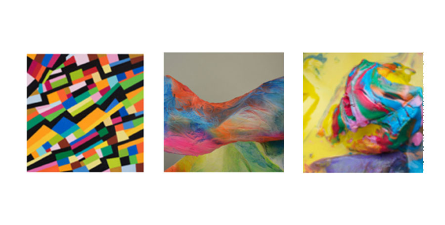 Color Chameleon, a group of artworks by Narinda Cook, Tara Gilbee and Melinda Harper