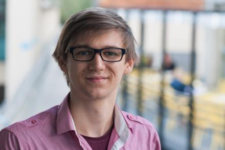 Student Nick Holmes
