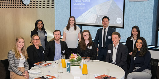 Extraordinary impact acknowledged at Financial Planning Scholarship Breakfast