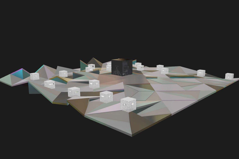 The virtual exhibition space environment