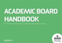 Academic Board handbook