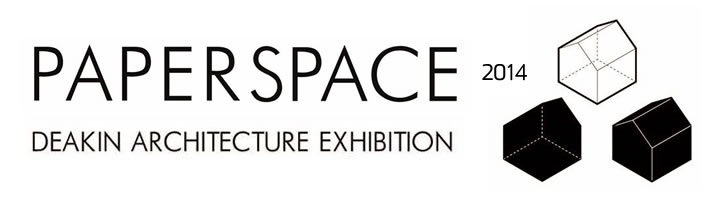 paper space exhibition banner