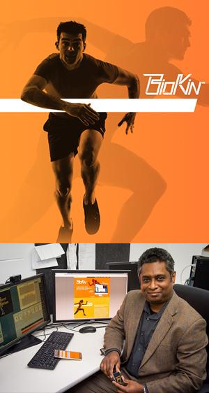 Associate Professor Pubudu Pathirana, from Deakin's School of Engineering, project leader for BioKin.