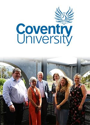 From left: Professor Carl Perrin, Professor Elena Gaura, Professor Richard Dashwood, Dr Rebekah Smith-McGloin, Professor Sarah Whatley and Dr Georgina Kelly.