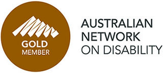 Australian Network on Disability Gold membership logo