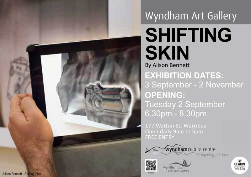 Shifting Skin Flyer